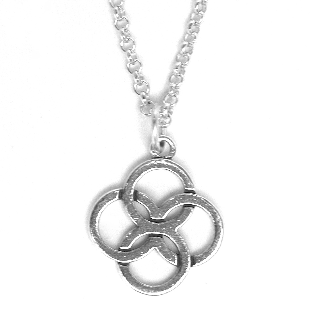 Necklace mystic knot leonor heleno designs fashion jewelry necklace mystic knot mozeypictures Image collections