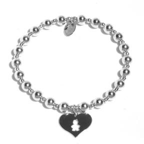 Bracelet Baby's Heart (Boy)