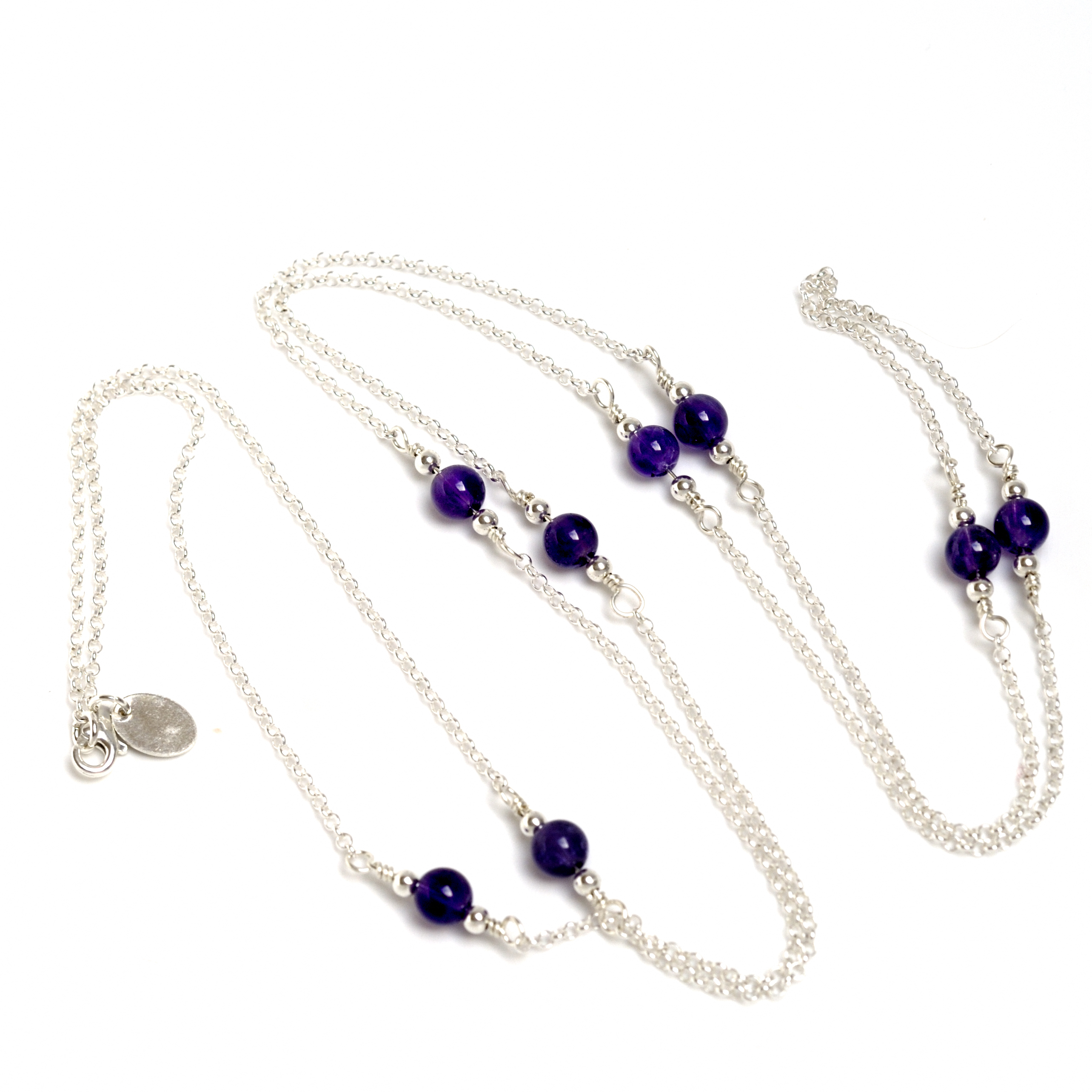 Necklace Violet by Leonor Heleno Designs