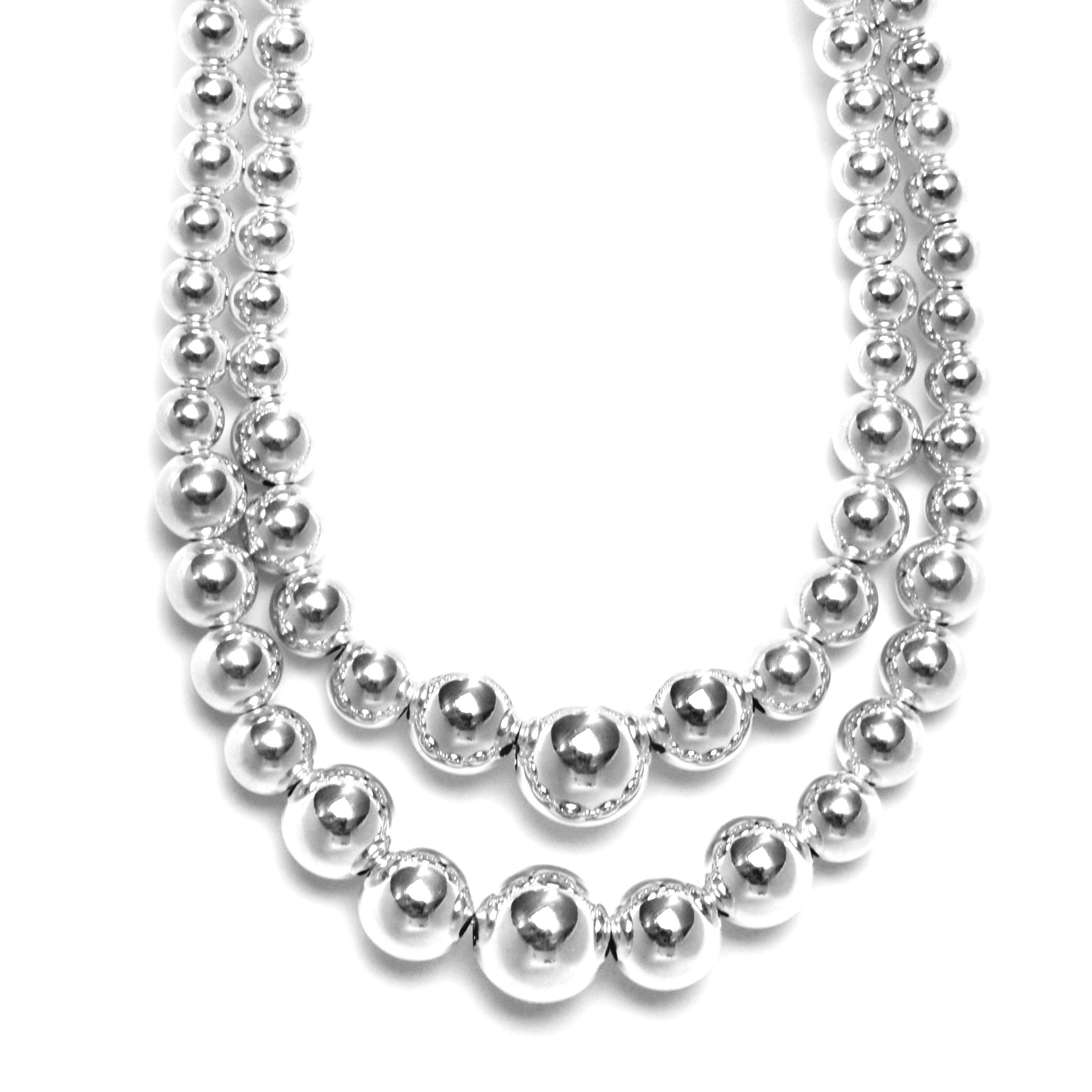 designs silver sterling bead necklace ponderosa product