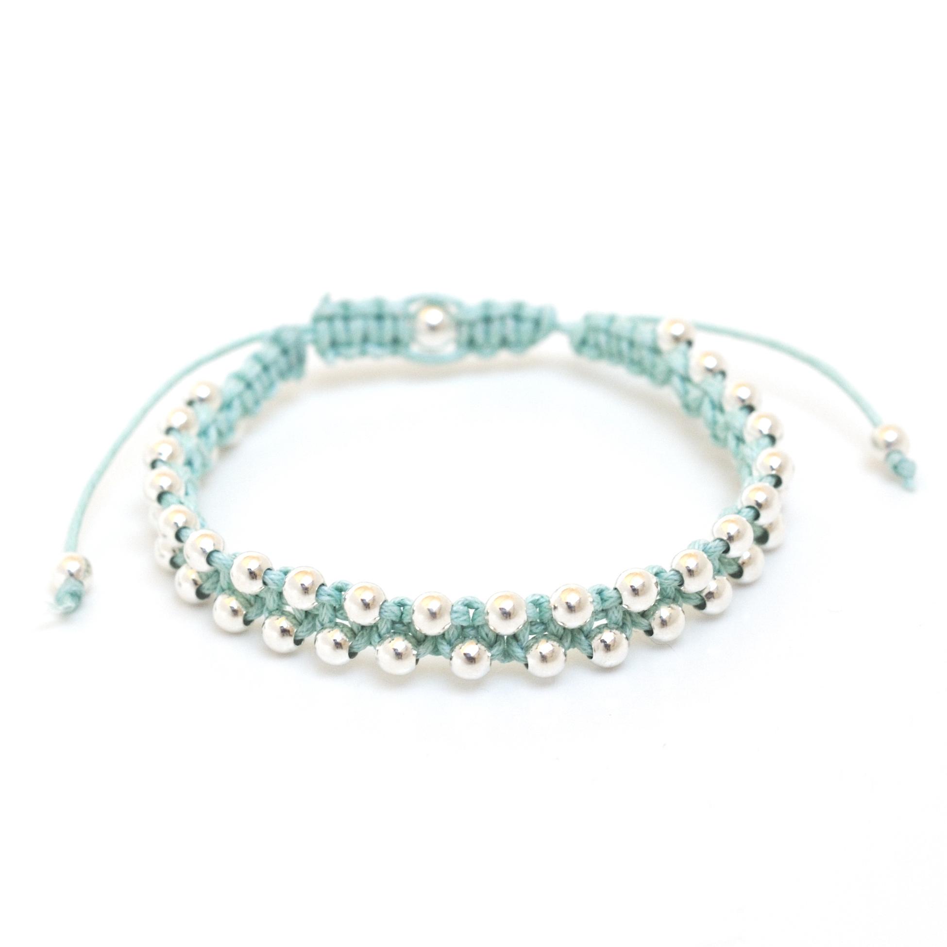 Bracelet Silver Wave